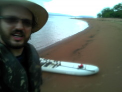 Lagoa do Manso, paddle board spot in Brazil