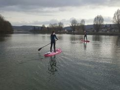 yvoir  sitio de stand up paddle / paddle surf en Bélgica