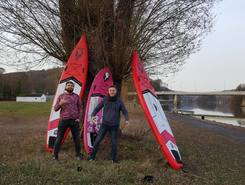 Yvoir - Meuse et île d'Yvoir sitio de stand up paddle / paddle surf en Bélgica