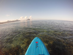 la preneuse pass spot de stand up paddle en Maurice