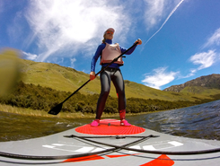 Lake Taylor sitio de stand up paddle / paddle surf en Nueva Zelanda