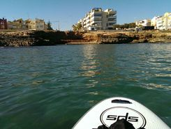 mar azul - playa famenca spot de stand up paddle en Espagne