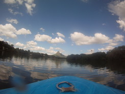 Rempart River Tamarin Bay paddle board spot in Mauritius