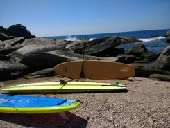 boca da barra x ilha do costa ida paddle board spot in Brazil
