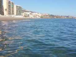 Fuengirola paddle board spot in Spain