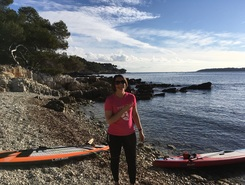 Iles de Lérins spot de stand up paddle en France