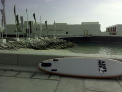 down the corniche sitio de stand up paddle / paddle surf en Catar