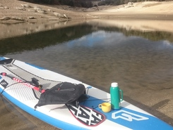 Embalse de Atazar spot de stand up paddle en Espagne