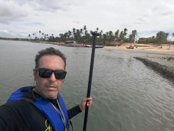 Abaré SUP paddle board spot in Brazil