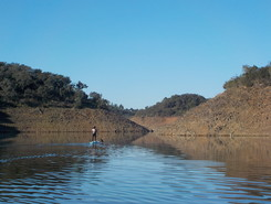 Santa Susana spot de stand up paddle en Portugal