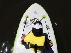 arroyo maldonado spot de stand up paddle en Uruguay