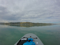 Christchurch Estuary spot de stand up paddle en Nouvelle-Zélande