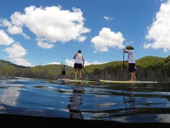 Hinze Dam sitio de stand up paddle / paddle surf en Australia