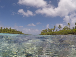 Tahaa sitio de stand up paddle / paddle surf en Polinesia Francesa