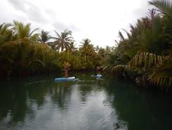 Loboc paddle board spot in Philippines