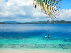 Black Island spot de stand up paddle en Philippines