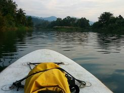 paddelboad paddle board spot in Thailand
