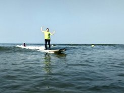 Mantra Surf Club Mulki paddle board spot in India