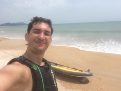 Ho Tram sitio de stand up paddle / paddle surf en Vietnam