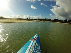 anse du letty sitio de stand up paddle / paddle surf en Francia