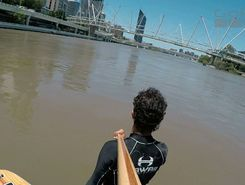 Brisbane River sitio de stand up paddle / paddle surf en Australia