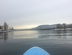 Winter SUP sitio de stand up paddle / paddle surf en Canadá