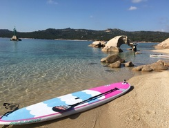La Celvia sitio de stand up paddle / paddle surf en Italia