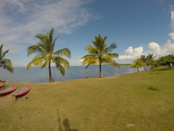 Babin paddle board spot in Guadeloupe