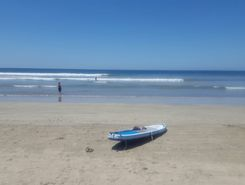 Playa Avellana paddle board spot in Costa Rica