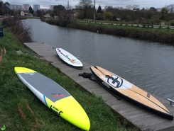 Saint-Grégoire spot de stand up paddle en France