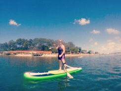 Claouey spot de stand up paddle en France