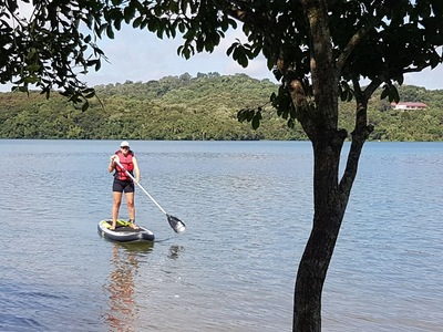 Passaúna  paddle board spot in Brazil