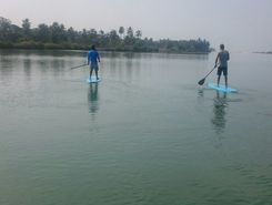 shambavi river  sitio de stand up paddle / paddle surf en India