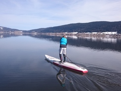 Lac de Joux - Le Rocheray  spot de stand up paddle en Suisse