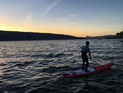 Menthon spot de stand up paddle en France