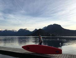 talloires spot de stand up paddle en France