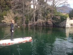 Barbarano paddle board spot in Italy