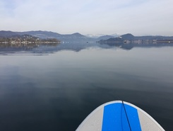 cicognola paddle board spot in Italy