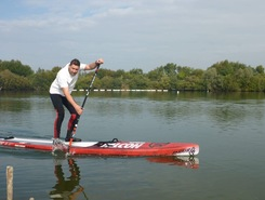 Damsevaart spot de stand up paddle en Belgique