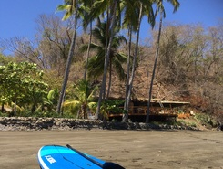 Bahia Rica paddle board spot in Costa Rica