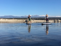 Embalse de Valmayor spot de stand up paddle en Espagne