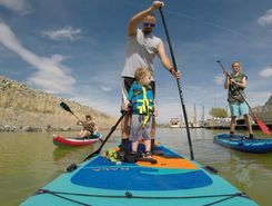 Great Salt Lake spot de stand up paddle en États-Unis