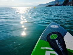 Lac Léman spot de stand up paddle en Suisse