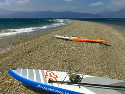 Drepano sitio de stand up paddle / paddle surf en Grecia