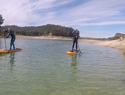 Embalse Del Conde de Guadalhorce spot de stand up paddle en Espagne