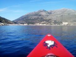 GREECE :  KEFALONIA ISLAND :  SAMI paddle board spot in Greece