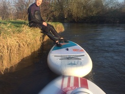 Risle pt au  paddle board spot in France