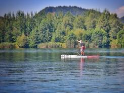 Lake Velenje sitio de stand up paddle / paddle surf en Eslovenia