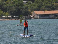 Portorož beach sitio de stand up paddle / paddle surf en Eslovenia