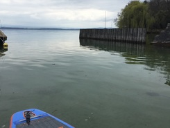 Auvernier Beach spot de stand up paddle en Suisse